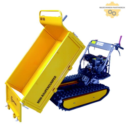LUMAG Raupendumper Minidumper Motorschubkarre MD500 4,8 kW Raupenantrieb