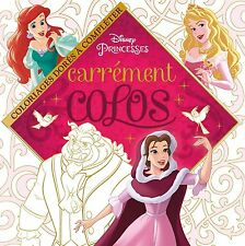 Disney Princesses Adult Colouring Book Princess Beauty Beast Fantasy Cinderella