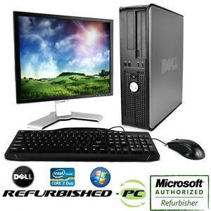 'CLEARANCE-Fast-Dell-Desktop-Computer-PC-Core-2-Duo-WINDOWS-10-LCD-KB-MS' from the web at 'https://i.ebayimg.com/images/g/yAYAAOSw4shX9XeO/s-l300.jpg'