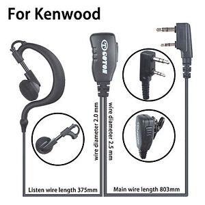 RLN6423 Earloop Headset for Motorola Radio PR400 RDU2020 Portable Radio