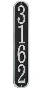 25-Black-and-Silver-Oval-Vertical-Address-Plaques