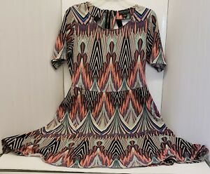 FOREVER-21-PLUS-SIZE-CRISSCROSS-BACK-DRESS-1X-VERY-GOOD-PRE-OWNED-CONDITION