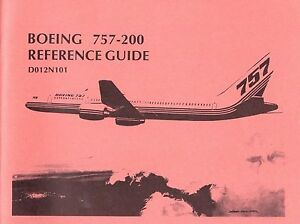 boeing 757 200 reference guide d012n101 oct 1981 ebay. Black Bedroom Furniture Sets. Home Design Ideas