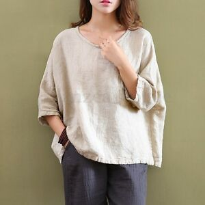 Zanzea-2017-Women-Vintage-Oversized-Pullover-Basic-Tops-Blouse-T-Shirt-Plus-Size