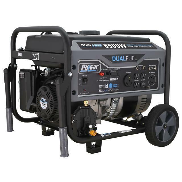 Generac Megaforce 6500 Portable Generator For Sale Online Ebay