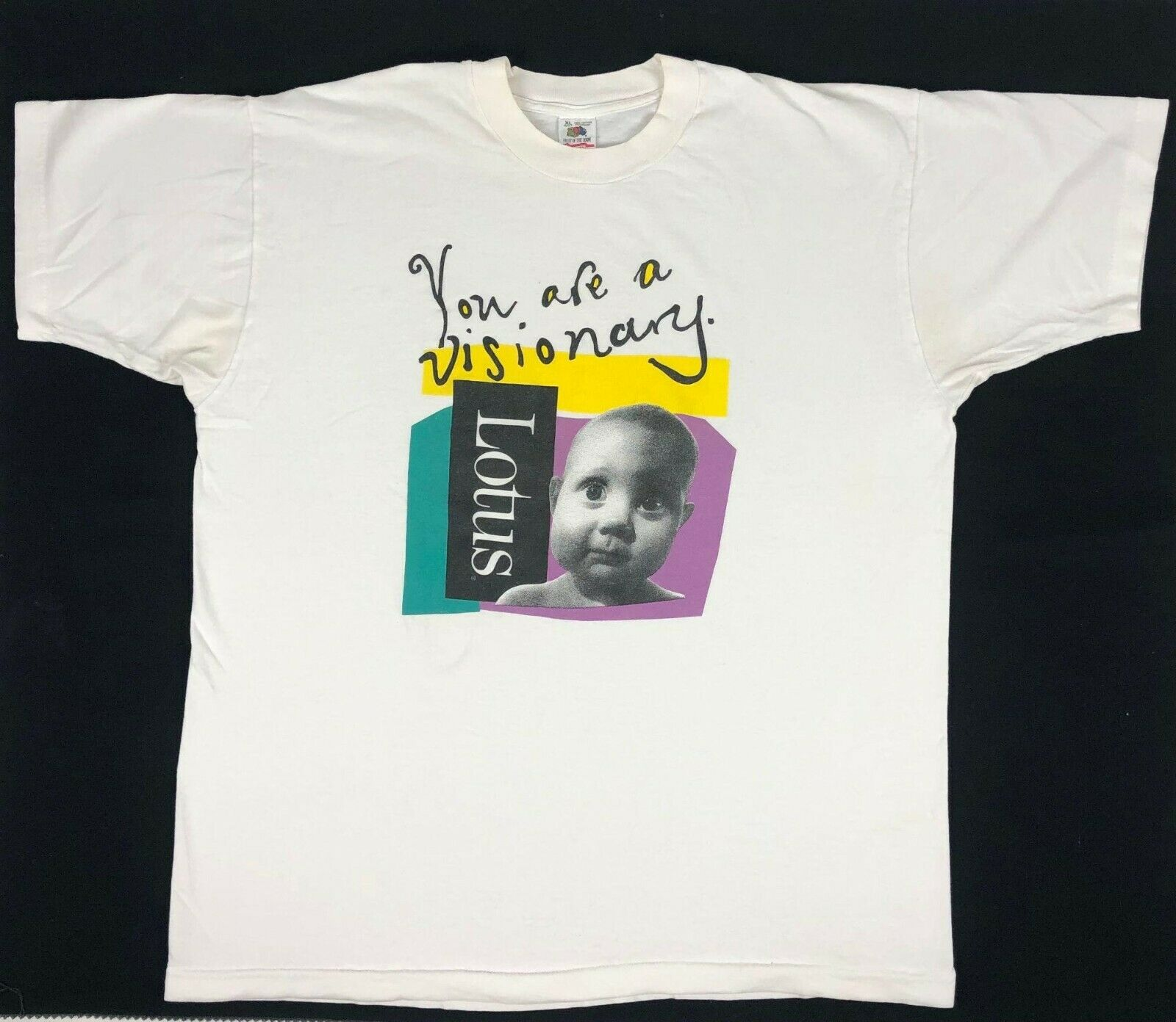 Vintage 90s You are a visionary Single Stitch Graphic T shirt size XL