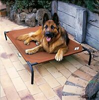 Coolaroo Large Elevated Pet Bed Dog Raised Off Ground Cot Steel Frame