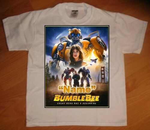 Bumble Bee Movie 2018 Personalized Birthday Party Favor Gift T-Shirt NEW