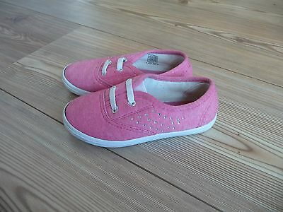 Schuhe Sommerschuhe Stoffschuhe Gr. 25, Glitzersteine