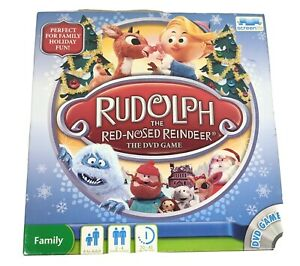 Rudolph The Red Nosed Reindeer Dvd Game Watch Movie & Play Board Xmas Gift