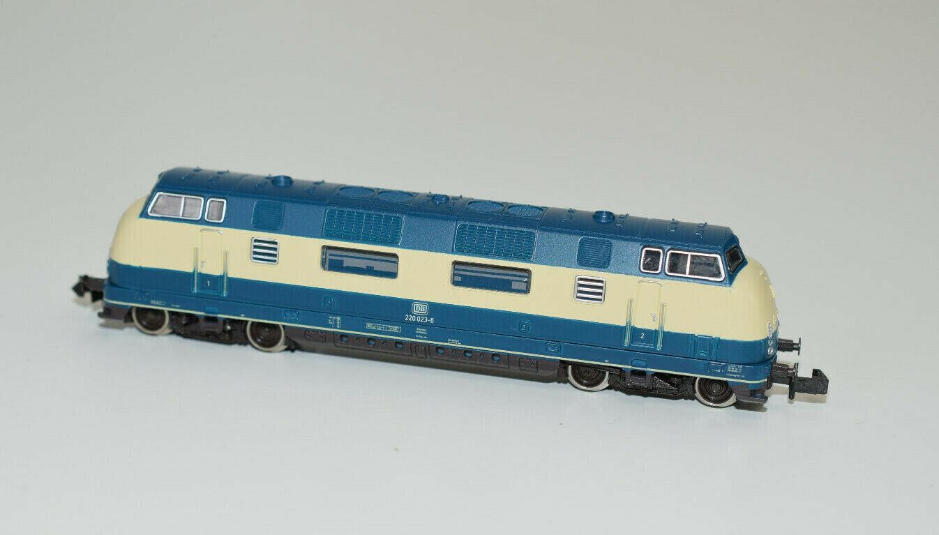 exclusivo Roco pista N-diesellok N-diesellok N-diesellok serie 220 023-6 DB EP. IV Art 23286    Q 512  Precio por piso
