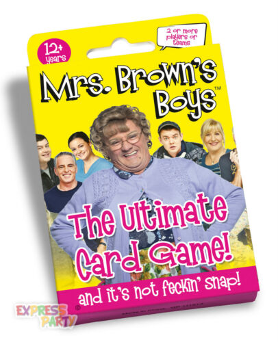 MRS BROWN'S BOYS THE ULTIMATE CARD GAME PAUL LAMOND GAMES 16+