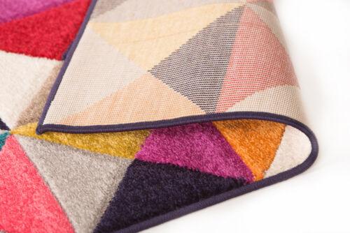 Moderne Qualität Handgeschnitzte Geometrisch Design Weich Teppich Mehrfarbig