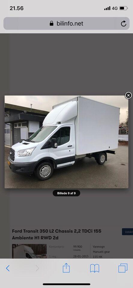 Ford, Transit 350 L2 Van, 2,2 TDCi 155 Ambiente H2 RWD