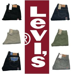 NEW-DISCONTINUED-MENS-LEVIS-505-REGULAR-FIT-ZIPPER-FLY-JEANS-PANTS-MANY-COLORS