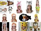 New Plush Animal Hats Cap-Soft warm Headwear-Short Ear pans and long With Mitten