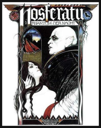 Men/'s Ladies T SHIRT retro cult horror film movie NOSFERATU gothic german