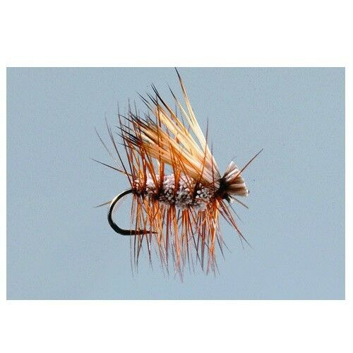 2 Irresistible Caddis Tan #18 Trout Fly by Rainy/'s FREE SHIPPING
