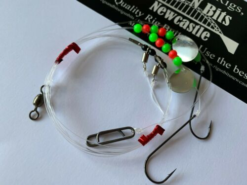 pier flappers pulleys Sea fishing Rigs x 30 high quality rigs river beach