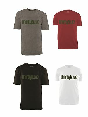 ThirtyTwo Short Sleeve Tee Slacker or 2032 All Sizes Colors 32