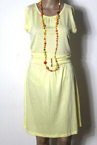 brand new a7aff c76f4 Details zu mint & berry Kleid Gr. S zart gelb knielang Kurzarm Shirt Kleid  +Gürtel