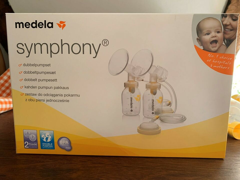 Brystpumpe, Medela symphony set