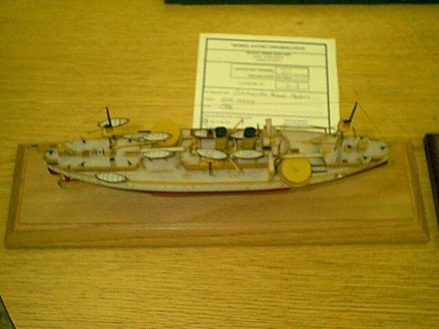 1 350  USS Maine First U.S. Battleship  Complete Resin & PE Brass Model Kit