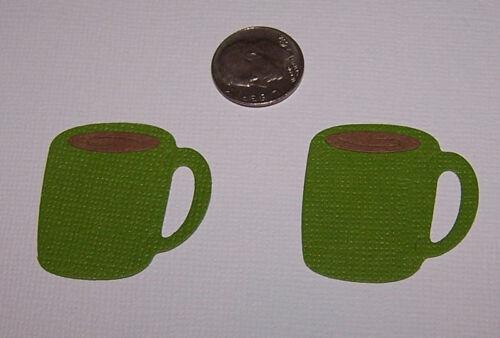 Scrapbook /& Card Making 6 Coffee Mugs PAPER Die Cuts