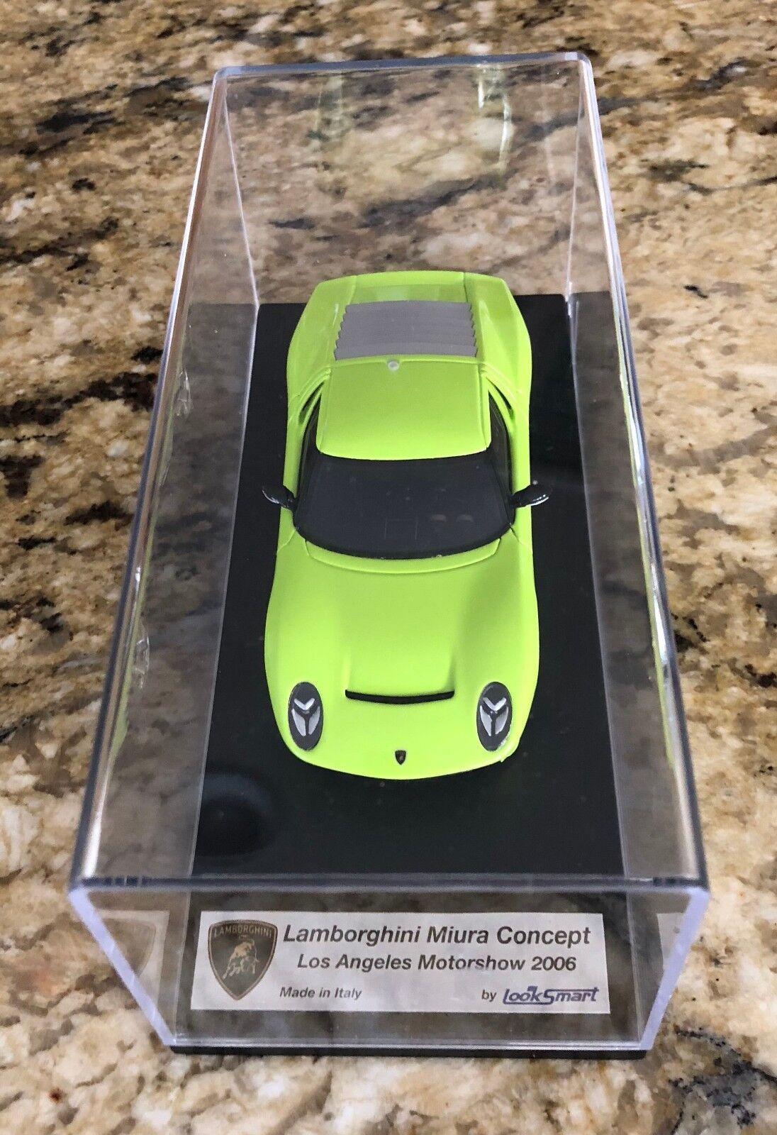 Looksmart lamborghini miura concept 2006 in los angeles motorshow 1 43 - ls172a