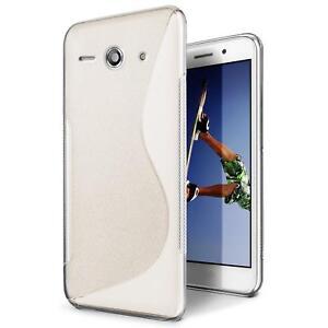 Handy-Huelle-Huawei-G510-Silikon-Case-Slim-Cover-Schutz-Huelle-Tasche-Transparent