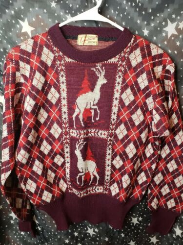 Vintage Catalina Sportswear Ugly Christmas Sweater