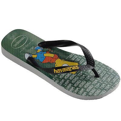 Diszipliniert Havaianas Die Simpsons Zehentrenner Sandale Badelatschen Ice Grey 4137889.3498
