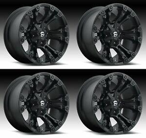 Fuel D560 Vapor 17x10 5x5.5//5x150-18mm Matte Black Wheel Rim 17 Inch