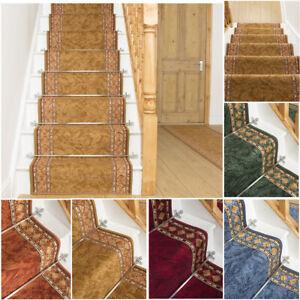 EXTRA-LONG-BEIGE-BLUE-GREEN-RED-TERRACOTTA-STAIR-STAIRCASE-RUNNER-CARPET-MAT