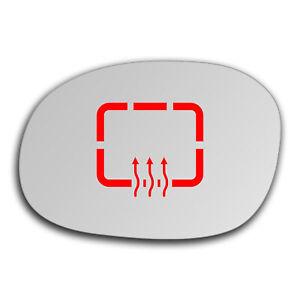 Left Side Wide Angle Heated Mirror Glass for Citroen Xsara Picasso 99-12 118LASH