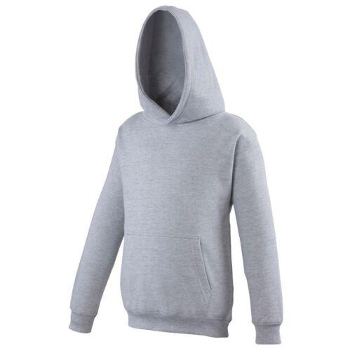 Heather Grey AWD Childrens Kids Hoodie Schoolwear Wholesale New