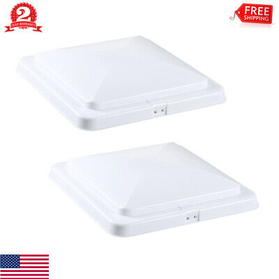 Vent Lid Replacement Camper White 2 Pack CampN 14 Universal RV Trailer Motorhome Roof Vent Cover