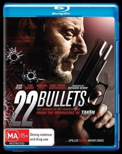 1 of 1 - 22 Bullets NEW B Region Blu Ray