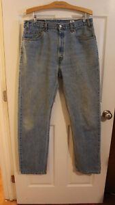 36x34 Levi's mesures D Jeans Taille Regular 505 Coupe Vintage 38x34 844x5qWf