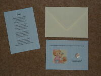 DAD'S FATHERS DAY/BIRTHDAY LUCKY SIXPENCE & POEM IDEAL KEEPSAKE