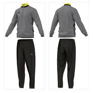 Details zu ADIDAS Herren Trainingsanzug Condivo16 JoggingSportanzug grauschwarz S XL