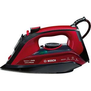 Bosch-TDA503001P-EditionRosso-Dampfbuegeleisen-rot-3000-W-350-ml-Wassertank