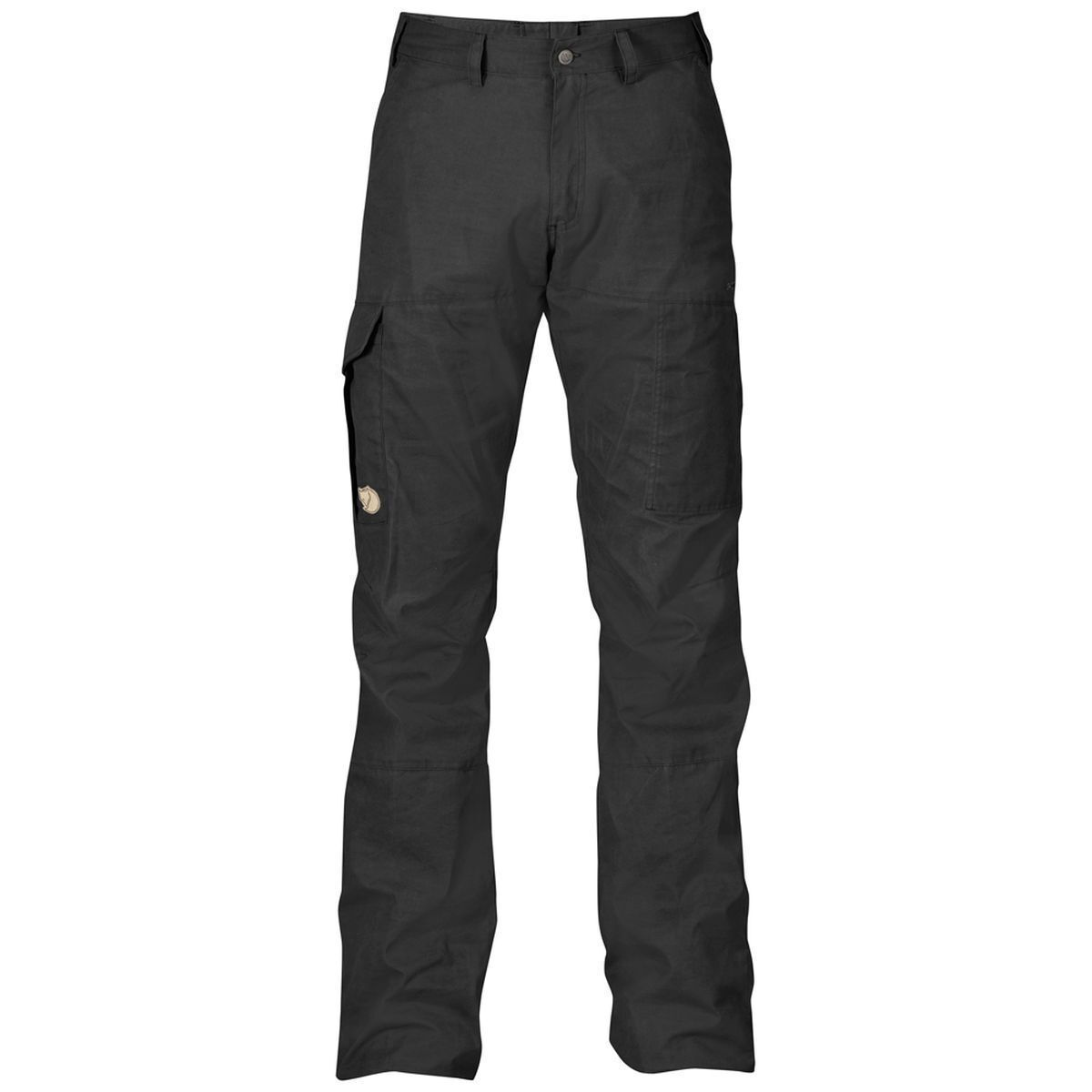 Fjäll Räven Karl Trousers, Dark Grey, Size 48,