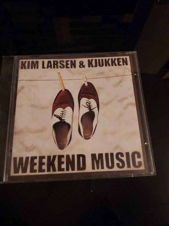 Kim Larsen og Kjukken: Weekend music, pop
