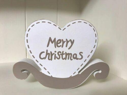 Joyeux Noël baignoir cœur plaque