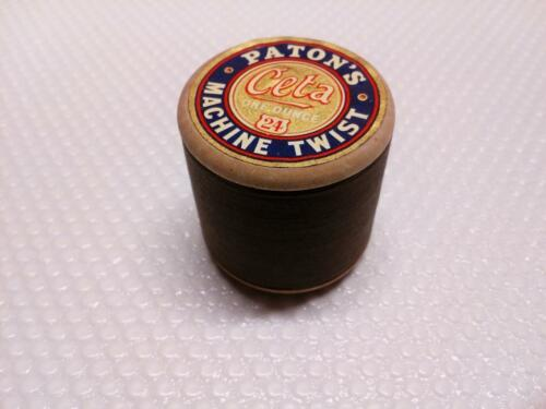 Celta Paton/'s Machine Twist One Ounce 24 Sewing Thread Shade No 634 Vintage