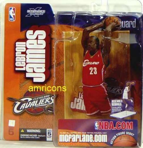 McFarlane NBA Series 5 LeBron James Variant Action Figure .