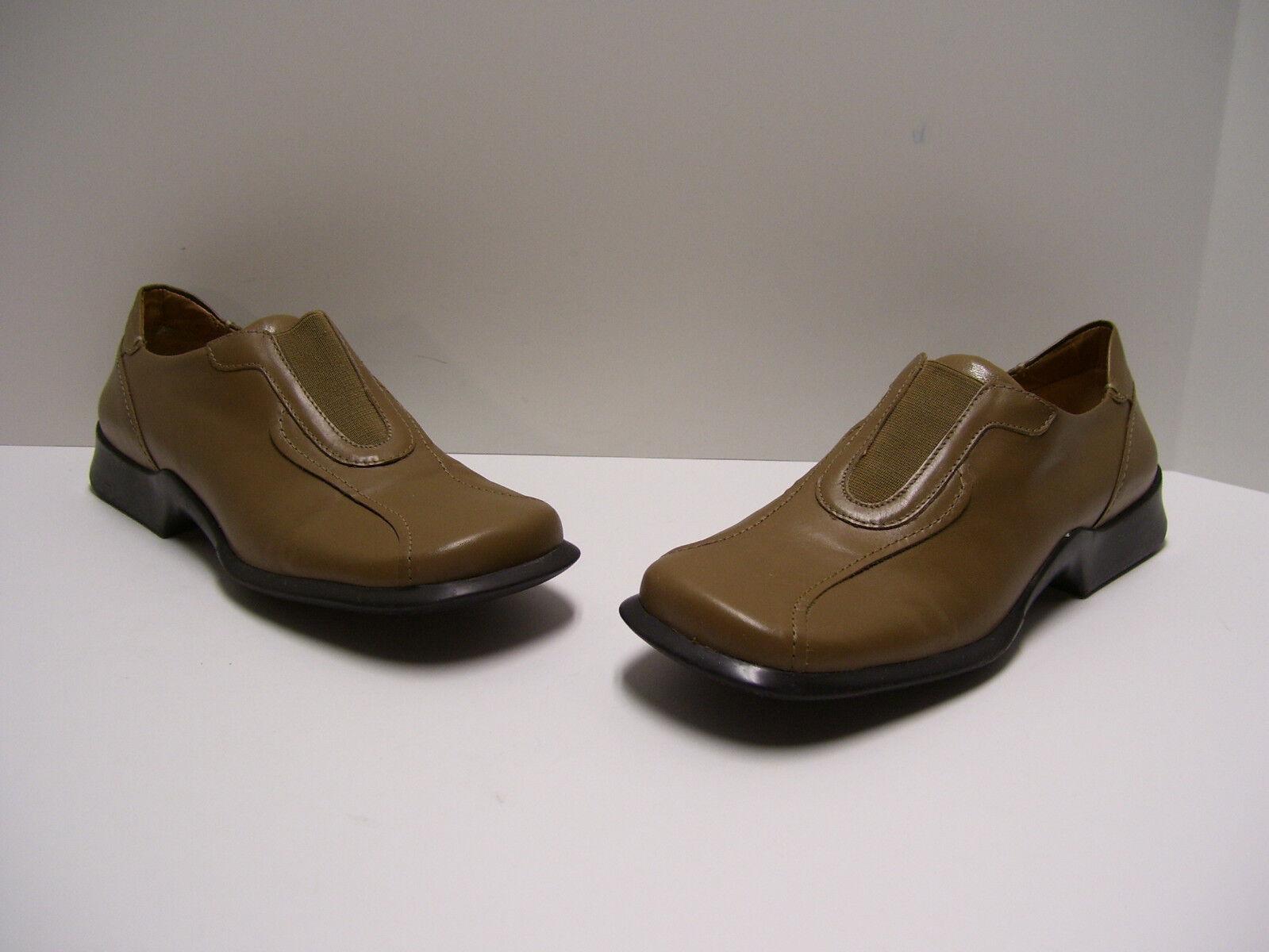Franco Sarto Womens Shoes Sz 8 M M 8 US Camel Calf Slippers Slipons Dress Casual 70ddc0