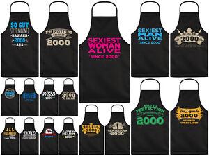 Geschenk zum 25.Geburtstag Grillschürze 1995 Kochschürze coole Sprüche 25 Jahre