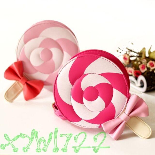 Cute Girl's Kids Lolita Candy Handbag Lollipop Harajuku Messager Bag Purse